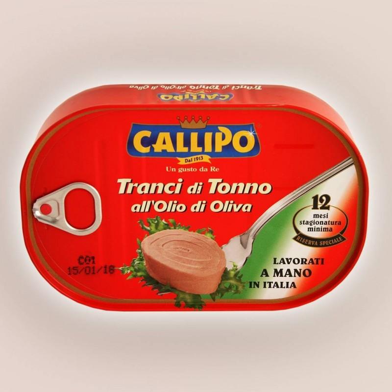Tranci di tonno all'olio d'oliva riserva speciale Callipo