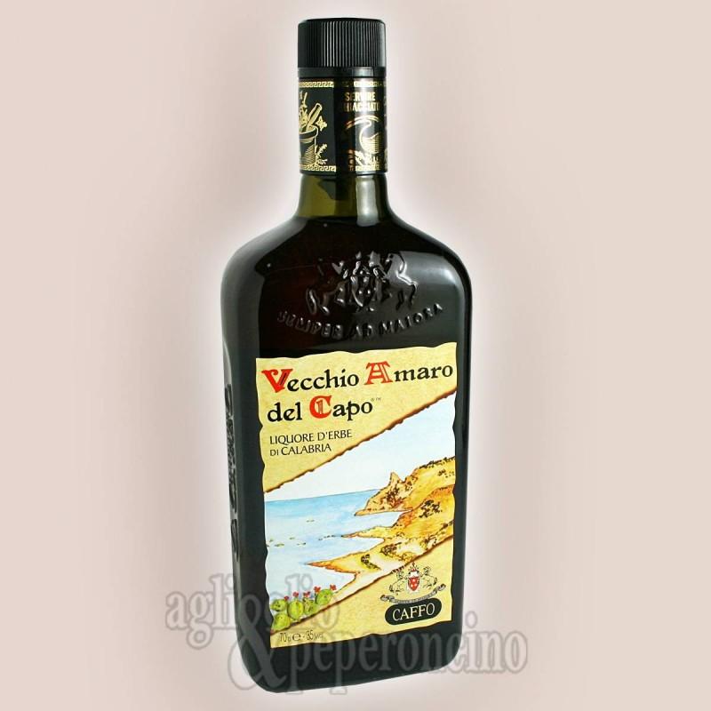 Vecchio Amaro del Capo Caffo unico piacere ghiacciato