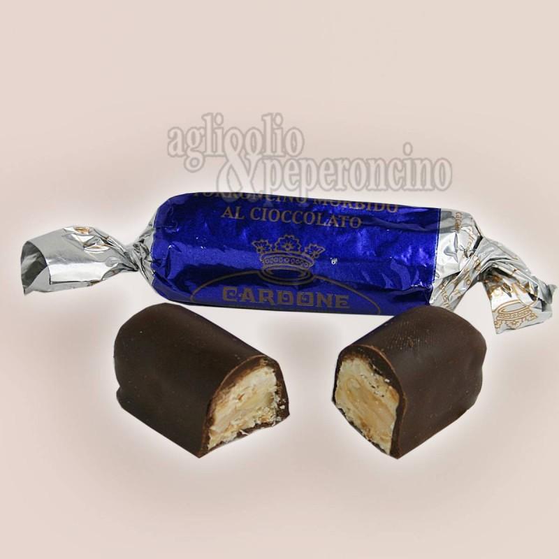Torroncino di Bagnara morbido al cioccolato - Cardone dal 1846