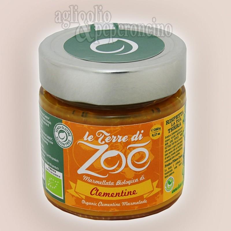 Marmellata di clementine Biologica - Da frutta calabrese - Le Terre di Zoè