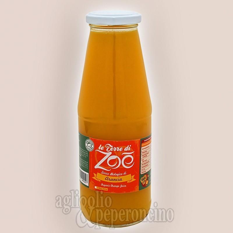 Succo biologico di arancia calabrese - In bottiglia da 700ml - Le Terre di Zoè