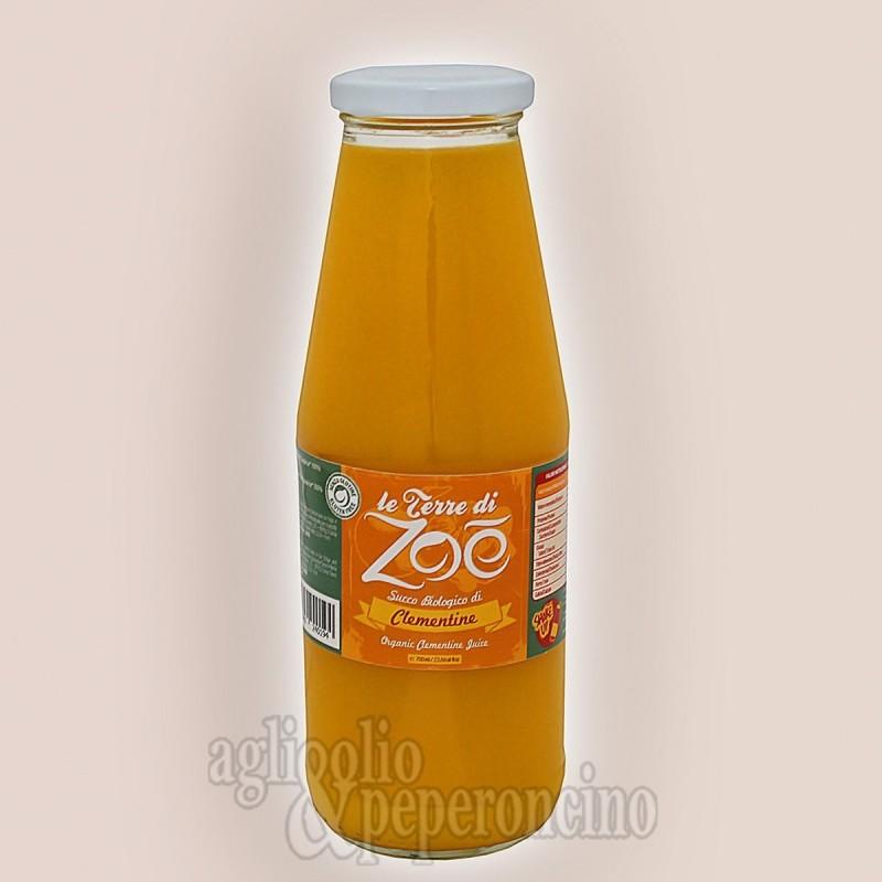 Succo biologico di clementine calabresi - In bottiglia da 700ml - Le Terre di Zoè