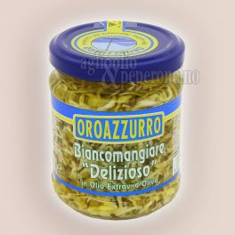 Biancomangiare delizioso in Olio extravergine d'oliva Oroazzurro - Specialità ittica calabrese