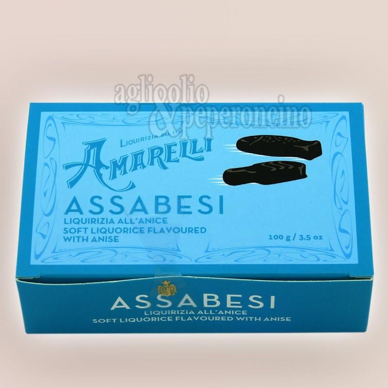 Assabesi Amarelli - Liquirizia gommosa Amarelli all'aroma di anice