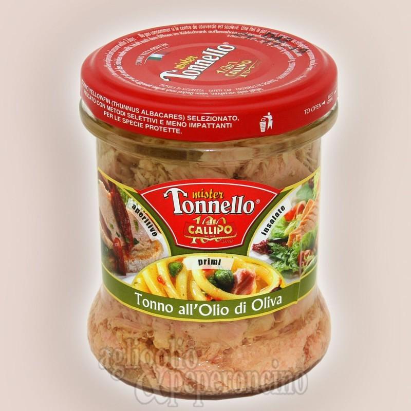 Mister Tonnello Callipo - Pezzi di tonno in olio d'oliva
