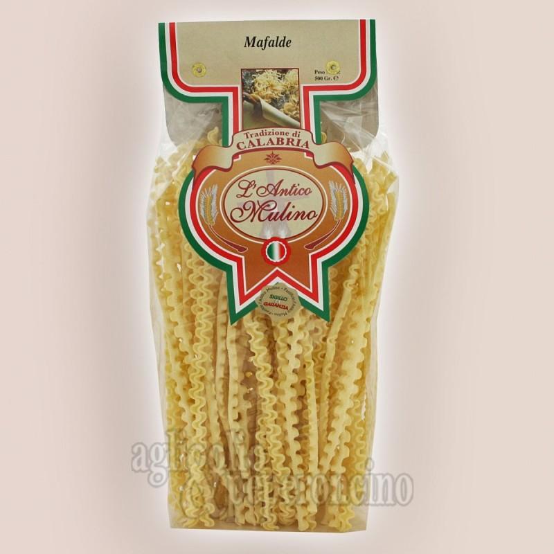 Mafalde artigianali 500 gr. - Prodotte in Calabria con i migliori grani duri