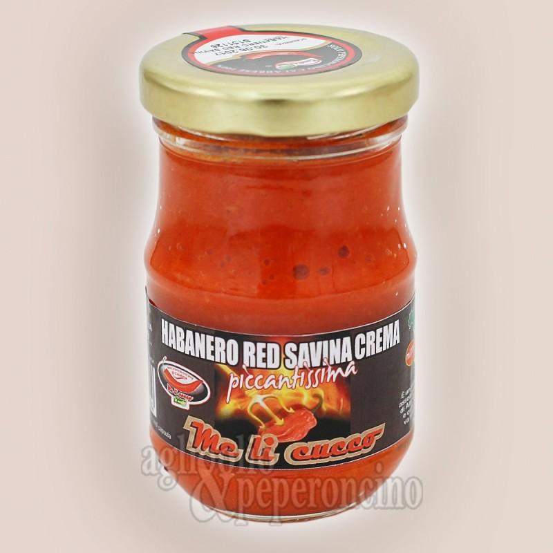 Crema di Habanero Red Savina - A base di peperoncino coltivato in Calabria