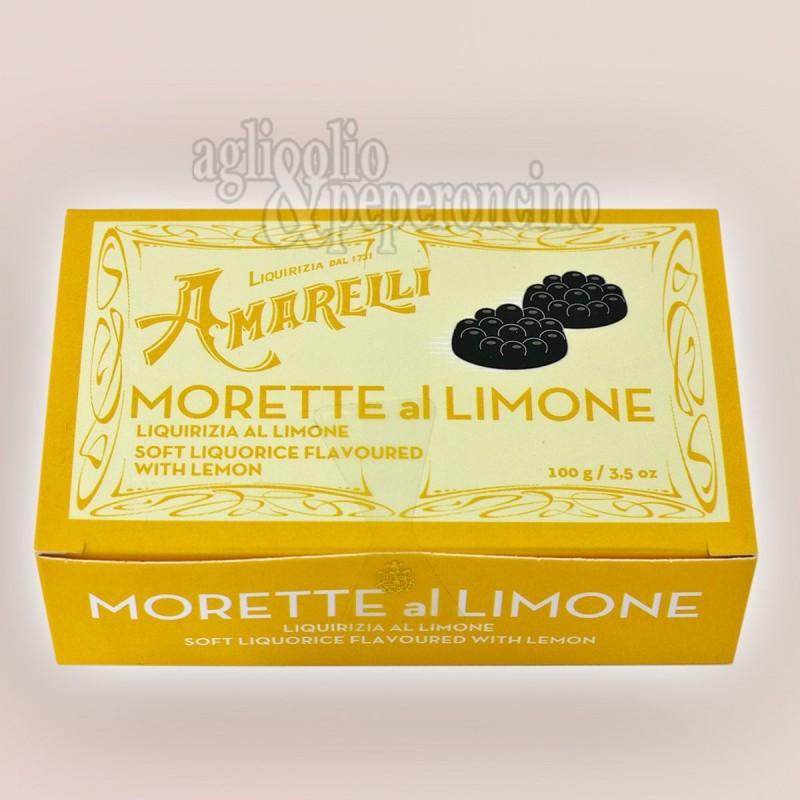 Morette al limone - Liquirizia gommosa Amarelli al nuovo gusto di limone