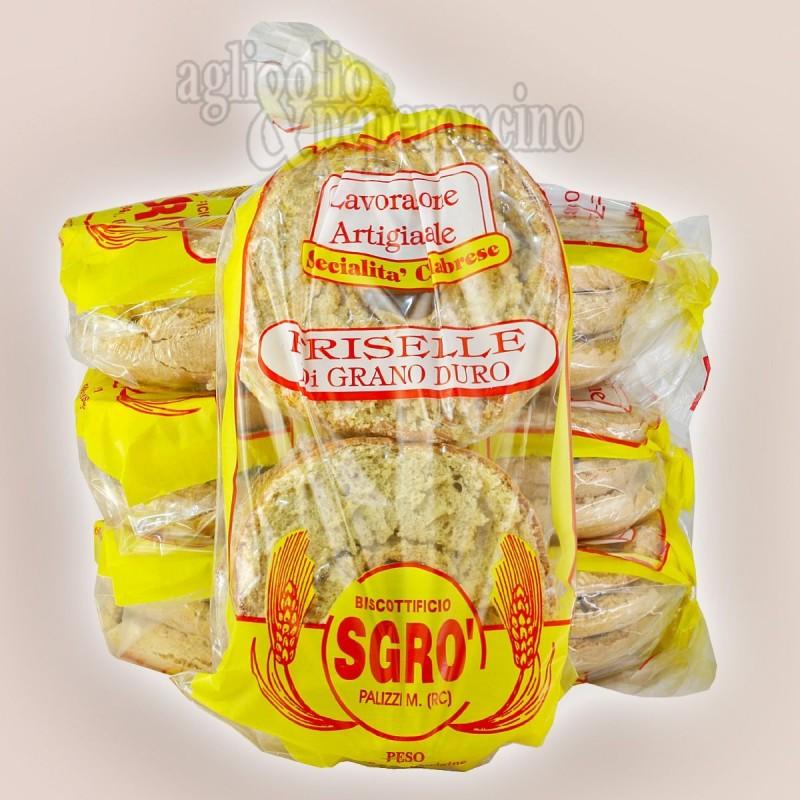 Friselle di semola di grano duro - Prodotto artigianale calabrese