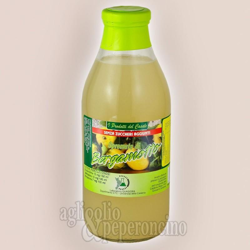 Spremuta bergamotto senza zucchero 750 ml - Azienda agricola Pratticò Arturo