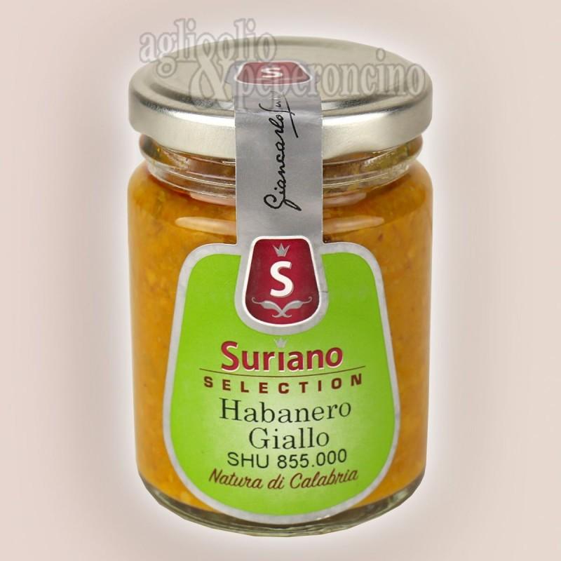 Crema di Habanero Giallo - Molto piccante - Da peperoncino coltivato in Calabria