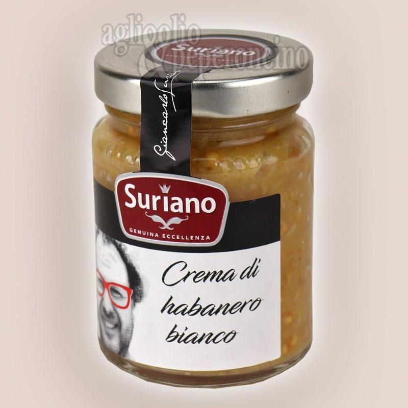 Crema di Habanero Bianco - Piccantezza elevata - Peperoncino coltivato in Calabria