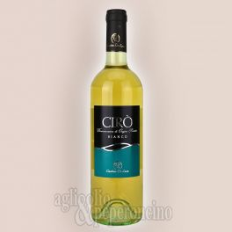 Cirò Bianco DOP 75 cl - Vino calabrese in bottiglia - Cantine De Luca