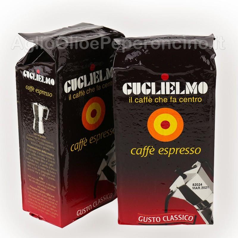 Caffè Guglielmo - Gusto Classico - Macinato 250 grammi