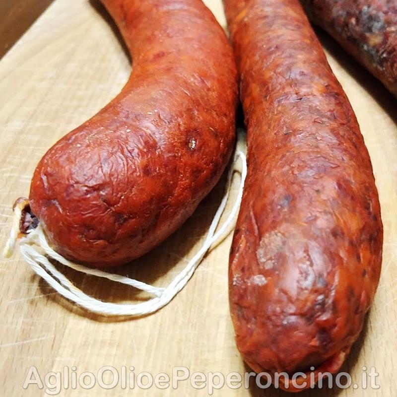 Nduja Cotichella - Ricetta della tradizione calabrese, con cotiche di maiale nell'impasto