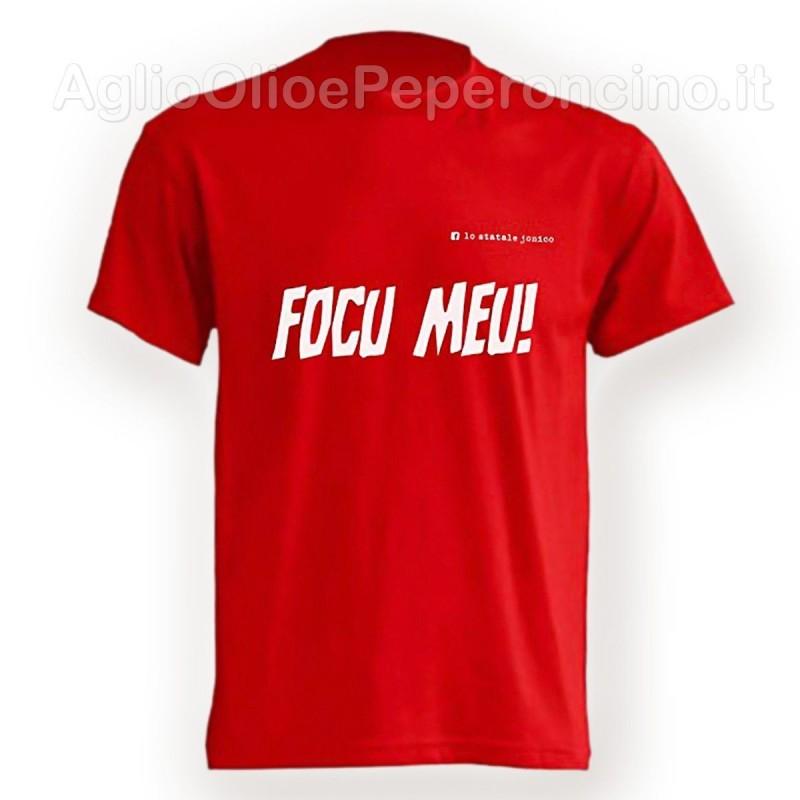 T-Shirt - Focu Meu - Tema  Calabria by Lo Statale Jonico